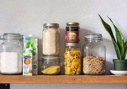 Les ingrédients de base pour cuisiner végane