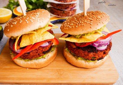 Burger mexicain vegan