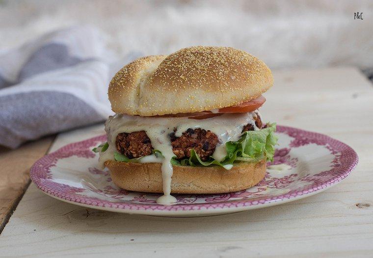 Cheeseburger vegan