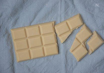 Chocolat blanc végane fait maison