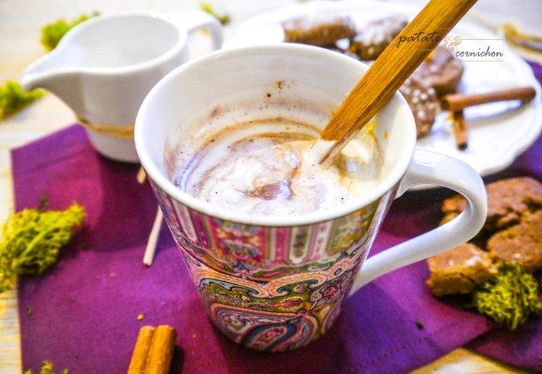 Chocolat chaud vegan aux épices – Spécial Noël
