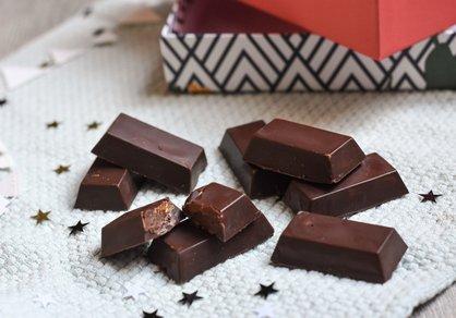 Chocolats pralinés vegan
