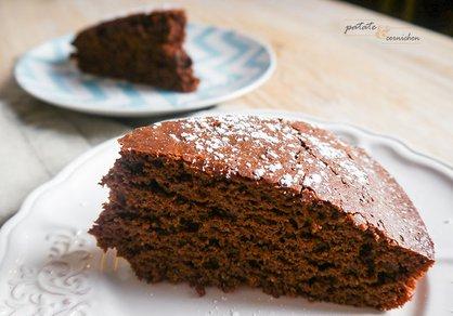 Gâteau au chocolat vegan