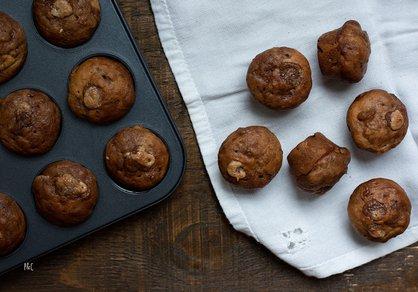 Mini muffins à la crème de marron