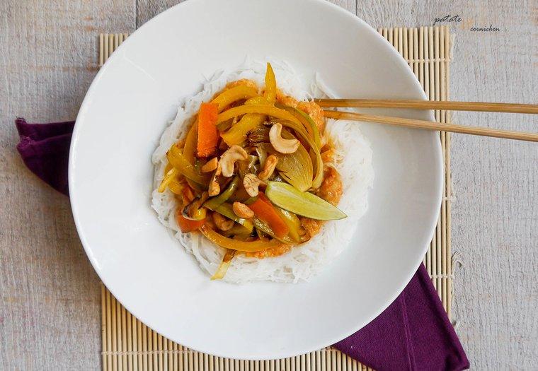 Pad thaï vegan