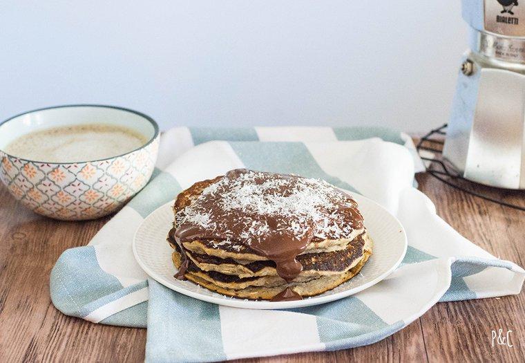 Pancakes vegan rapide au sarrasin