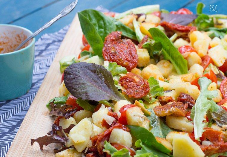 Salade d'été aux pommes de terre