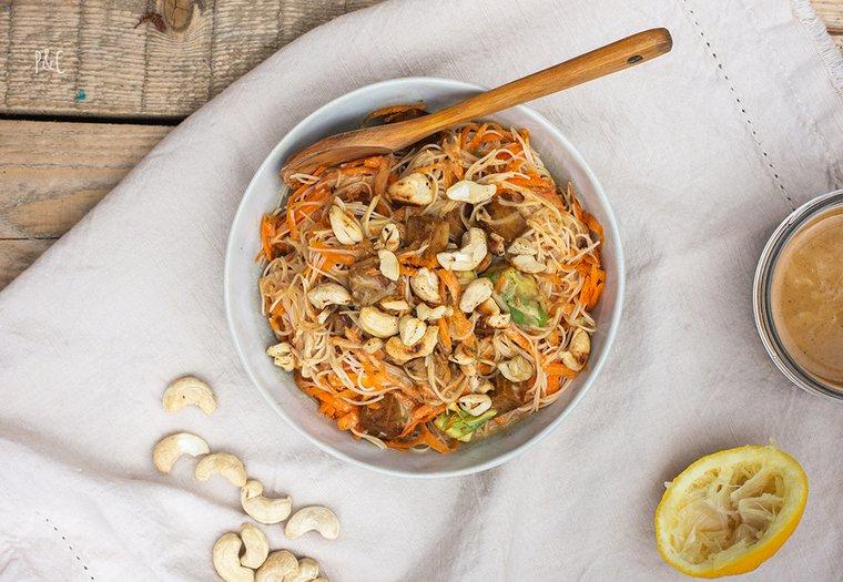 Salade thaïe de vermicelles