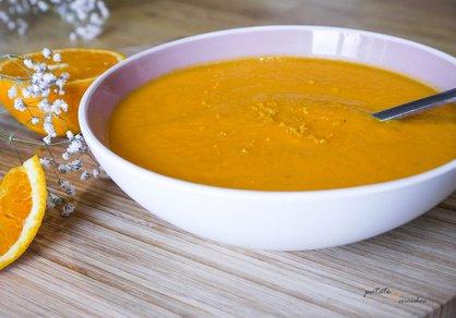 Soupe de carottes à l'orange