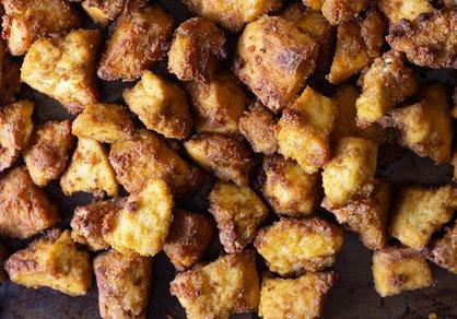 Tofu façon poulet